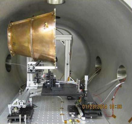 EM Drive in test chamber. (NASA)