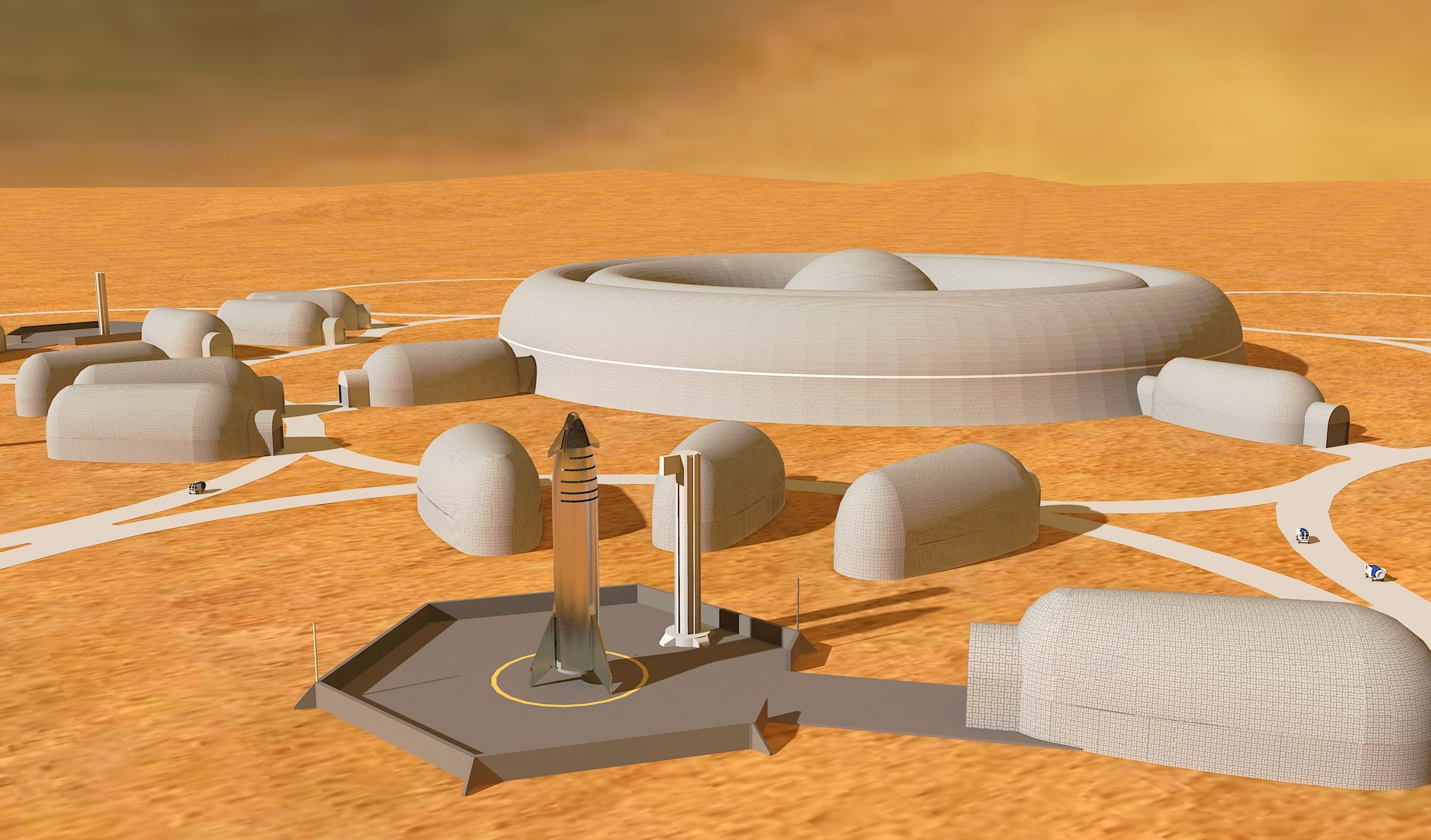 Mars Colony Design Update